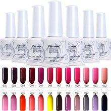 Lily angel 1pcs UV Gel Nail Polish 9ml Gelpolish Nail Art Fashion Glitter Colors Optional Varnish LED UV Gel Polish NO. 1-24