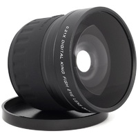 Lightdow 58mm 0.21x Fish Eye Lens fisheye for Canon Nikon OLYMPUS Pentax Sony FUJI Camera Lens with 58mm UV Filter Lens Thread