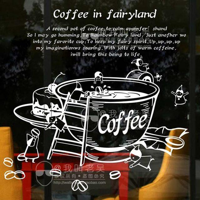 Aliexpress.com : Milch tee Coffee Shop Cafe Eis Brot Kuchen ...