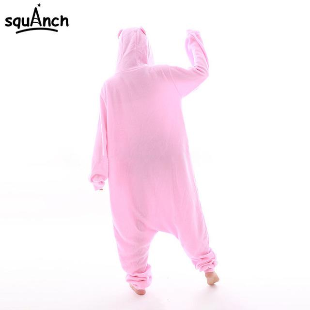 Care Bear Onesie Kigurumi Adult Women Girl Pink Cartoon Animal Pajama Festival Party Jumpsuit Rainbow Lovely Cute Costume Outfit