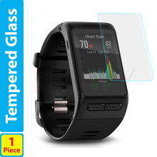 9H Tempered Glass LCD Screen Protector Shield Film for Garmin Vivoactive HR Accessories
