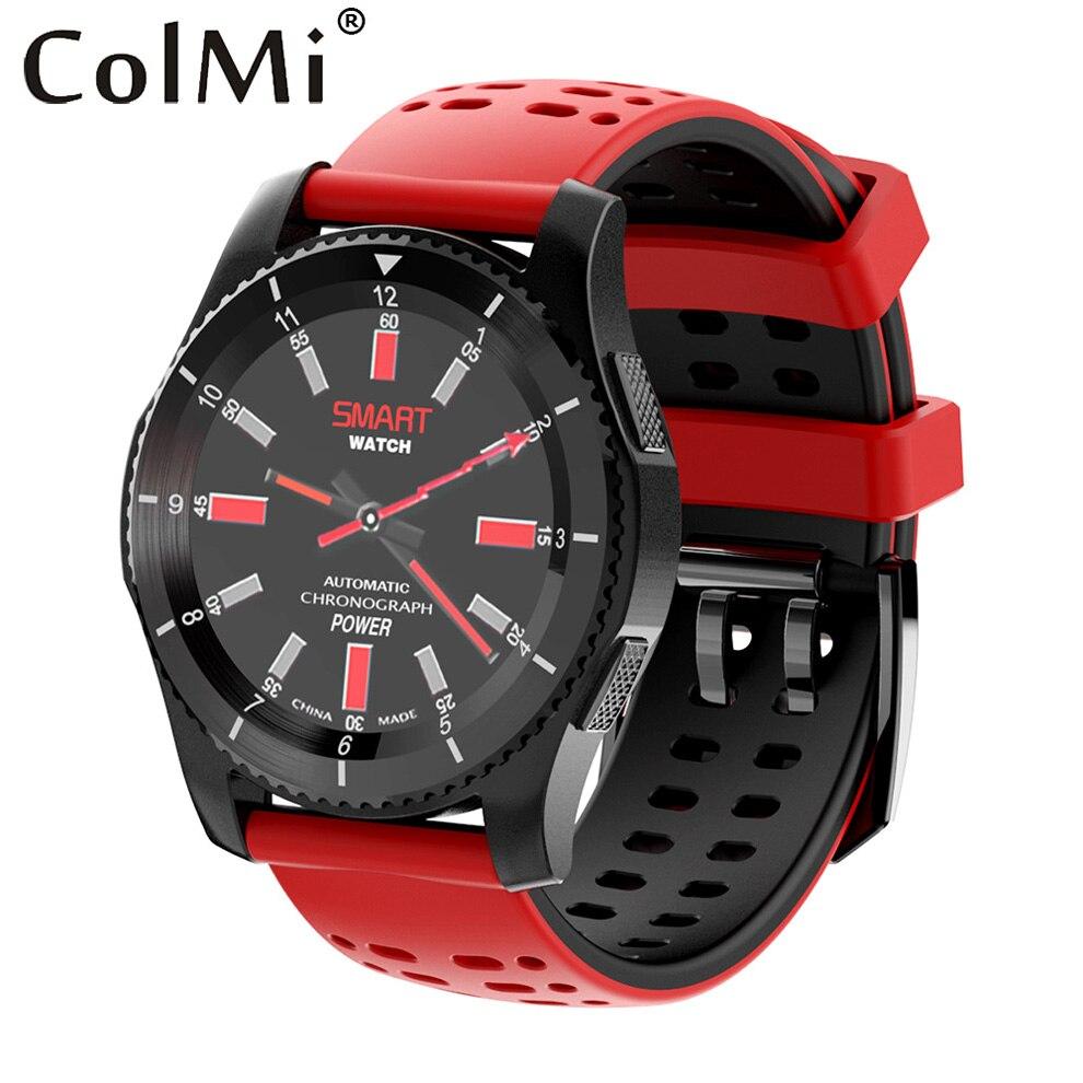 ColMi Montre Smart Watch Gs8 Étape Calories Moniteur de Fréquence Cardiaque Sang pression SIM Fente Pour Carte Message Aviser pour Android IOS Téléphone montre