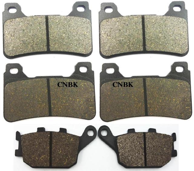 Brake Pads for HONDA CBR 1000 RR Fireblade CBR1000RR 1000RR 2004 - 2005 CBR 600 RR CBR600RR 600RR 2005 - 2006 Front Rear Onroad