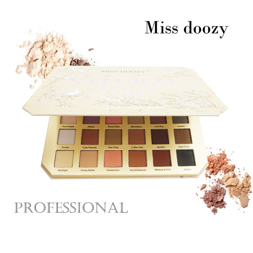 Eyeshadow Pallete Balm Glitter Palette Brow Cosmetic Brand Makeup Natural Matte Gift Pro Nude 30 Color Faced Pour Fard