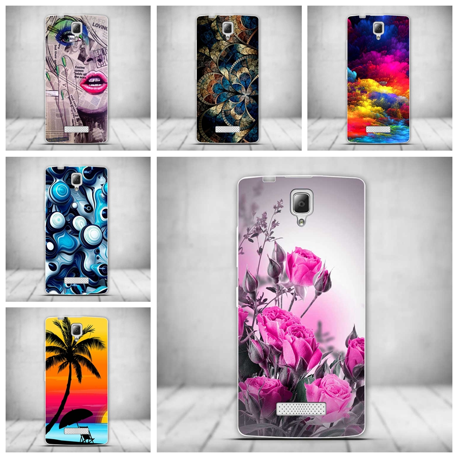 Soft TPU Mobile Phone Case for Lenovo A2010 Cases Painted Cover Soft TPU Shell Skin Silicon Cover for Lenovo A2010 A 2010 Bag