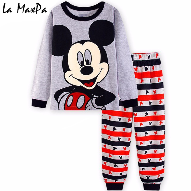 NEW cartoon kids pajama sets,children sleepwear boys nightwear girls family christmas pajamas Retail toddler baby pyjamas 2t-7t