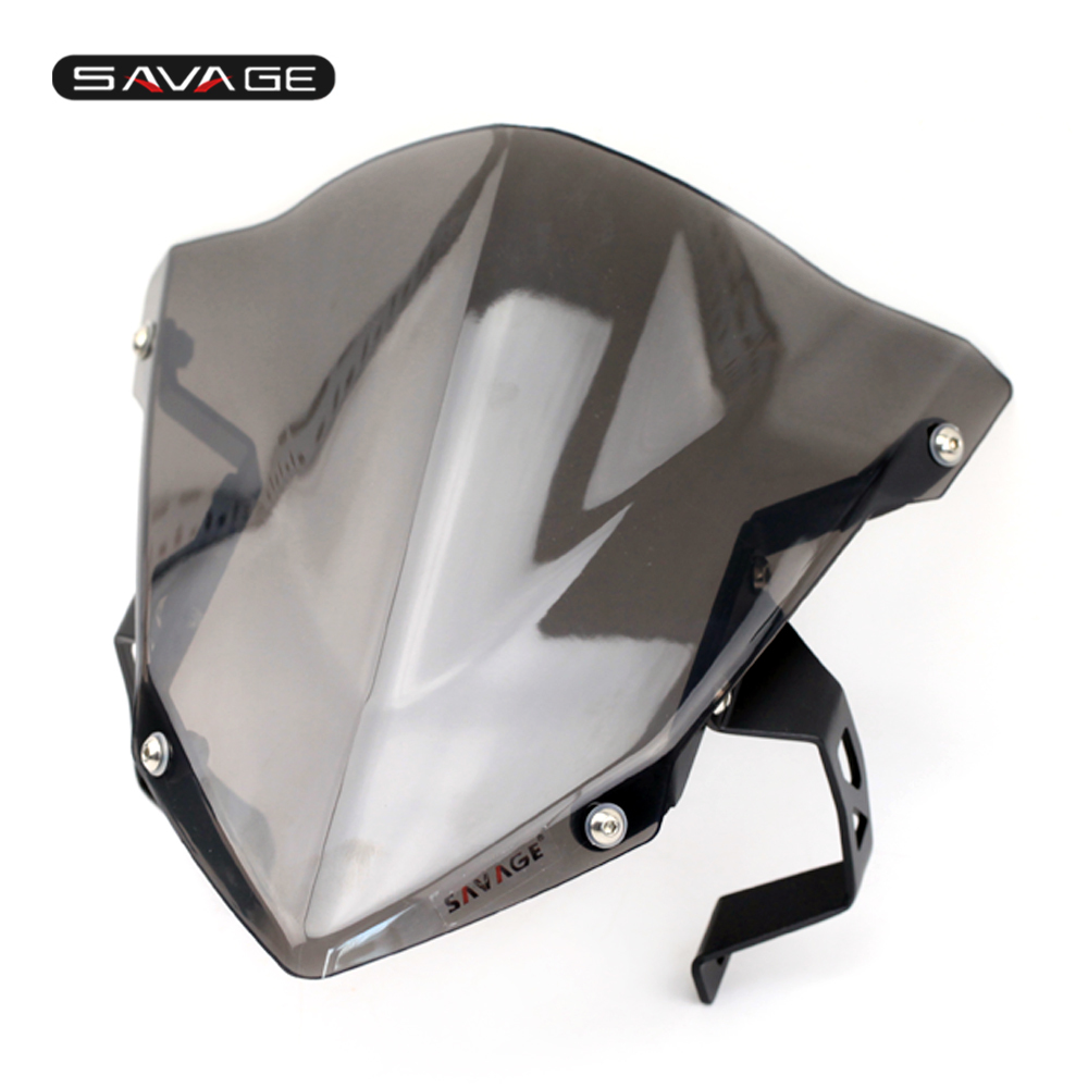 Windshield Pare-brise For HONDA CB190R CB 190R 2016 2017 2018 Motorcycle Accessories Windscreen Smoke
