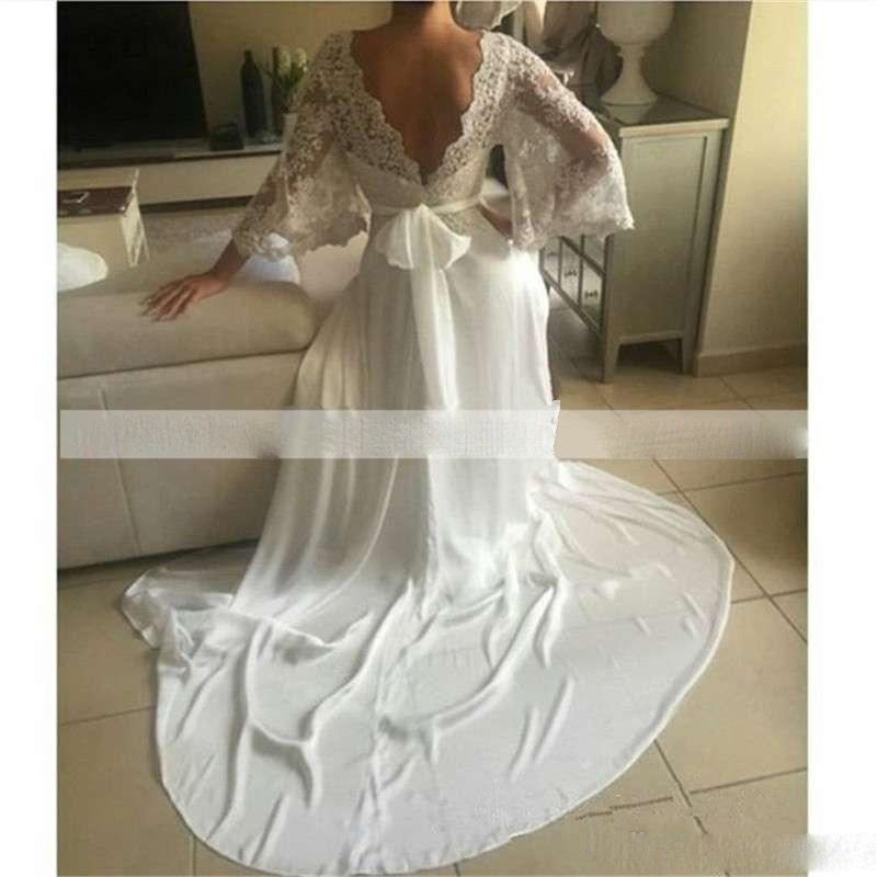 bohemian-wedding-dresses-illusion-lace-bridal-gown-backless-long-sleeve-deep-neck-wedding-gowns-boho-chiffon-plus-size-beach-bridal-dress