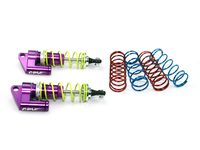 CPV model 1:10 RC car Universal Damping device 75mm aluminum alloy shock absorbers with side pressure shock x 2 pcs