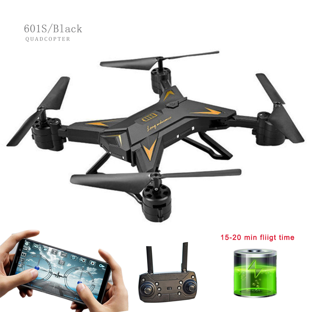 KY601S Foldable RC Mini FPV Drone Quadrocopter With NO/0.3MP/1080P Camera About