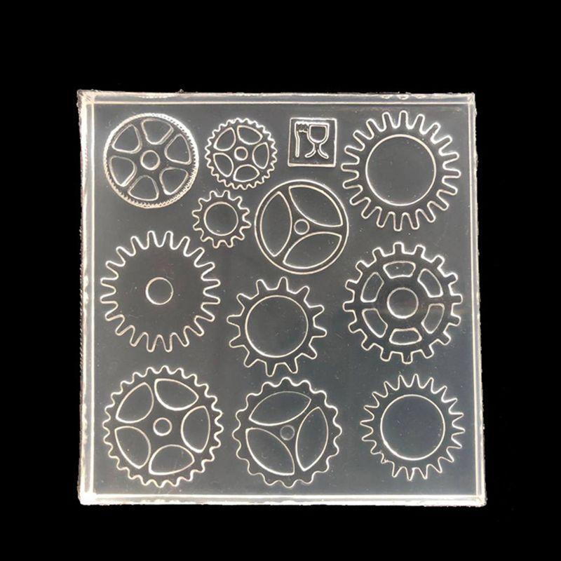 Силиконовая форма «сделай сам» в стиле ретро для изготовления колес и подвесок, форма для уф смолы, инструменты для украшений, художественное ремесло