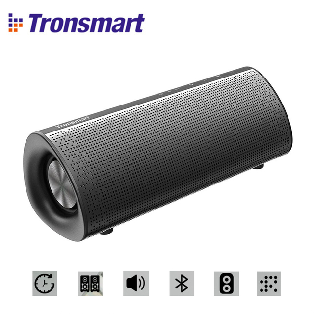 Tronsmart Element Pixie Bluetooth Speaker Double passive radiators 20W Super Bass Bluetooth 4.2 Powerful 15W output Supports TWS