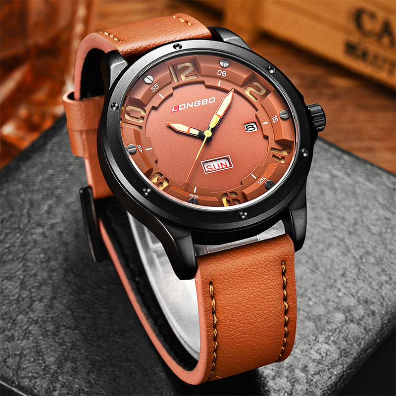 New 2018 Sport Quartz Watch Men Top Brand Luxury Famous Fashion Leather Wrist Watch Male Clock for Men Hodinky Relogio Masculino baosaili fashion wrist watch men watches brand luxury famous male clock women unisex simple classic quartz leather watch bs996