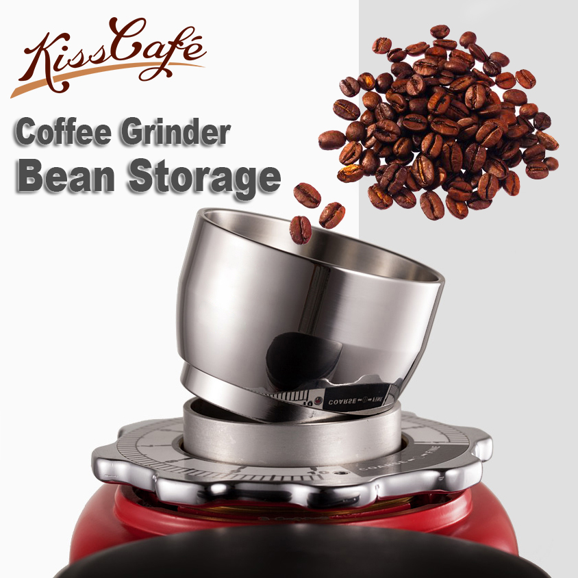 Stainless Steel Coffee Beans Storage Coffee Beans Grinding Machine For Barista Tools Espresso Accessories