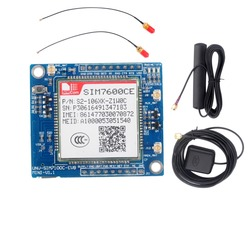 RCmall SIM7600CE 4G Module Development Board for Arduino Raspberry Pi 5-18V Android Linux Windows GSM/GPRS/EDGE900/1800 MHz