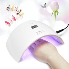 Nail Dryer&FREE SHIPPING SUN9S UV LED 24W Professional Nail Dryer Lamp Cure All Gels Arcylic Hard Gels Nail Art