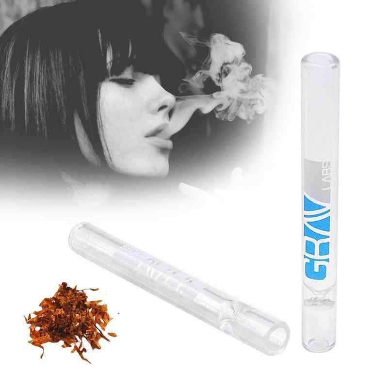 1 pc Vidro Cachimbo Piteira Filtrar o Alcatrão do Fumo do Cachimbo de água Tubo de Cigarro de Alta Qualidade Cor Aleatória