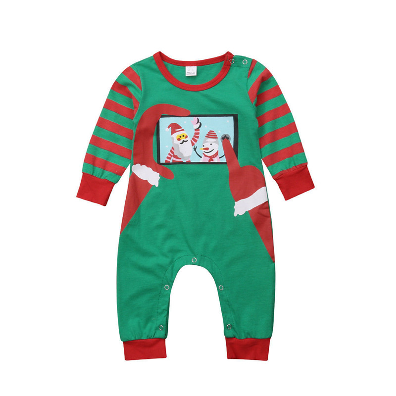 095f07ae21 Christmas Outfits Family Matching Kids Baby Dad Mom Pajamas Set Womens Mens  Girls Boys Striped Santa Clothes Nightwear Pyjamas-in Matching Family  Outfits ...