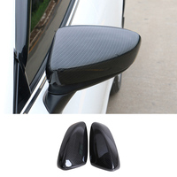 High quality Water transfer printing Carbon Fiber Print Door Mirror Cover Trim Case for Mazda 6 Atenza 2018 car styling