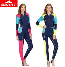 SBART Women Lycra Wetsuit Quick-dry One Piece Surfing Spearfishing Swimsuits Jumpsuit Padded Scuba Diving Triathlon Wet Suit sbart women lycra wetsuit quick dry one piece surfing spearfishing swimsuits jumpsuit padded scuba diving triathlon wet suit