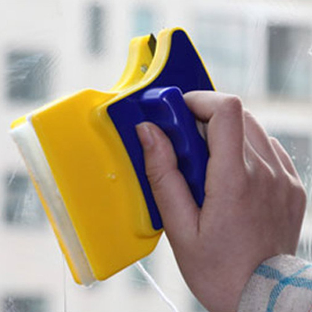 Cleaner Parts Magnetic brush for washing windows Household Double-sided window wizard cleaning tool Washing of Glass цена