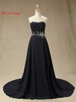 Long 2017 Evening Dresses Strapless Off The Shoulder Formal Gowns For Wedding Party Communion Dress