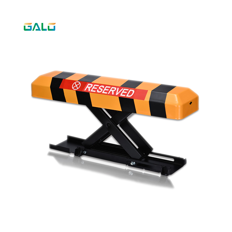 X Type 2 Remote Control Folding Fold Down Security Parking Lock Barrier Bollard Post With Lock & Bolts(NO BATTERY INCLUDED)