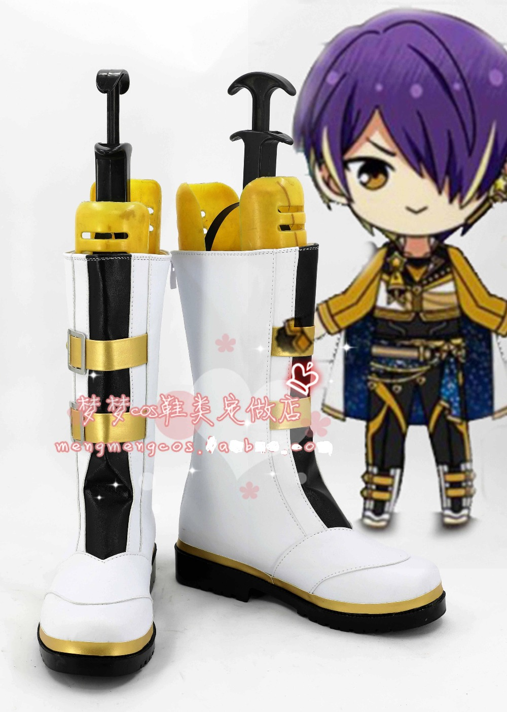Anime Ensemble Stars Shoes Morisawa Chiaki Cosplay Boots Halloween Carnival Shoes