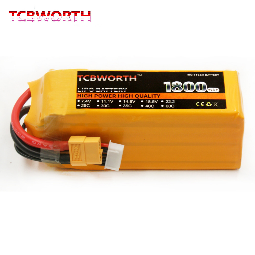 5S 18.5V 1800mAh 40C Lipo Battery For RC Drone Helicopter Airplane Car Boat Quadcopter Remote Control Toys Model Lithium Battery original rc helicopter 2 4g 6ch 3d v966 rc drone power star quadcopter with gyro aircraft remote control helicopter toys for kid