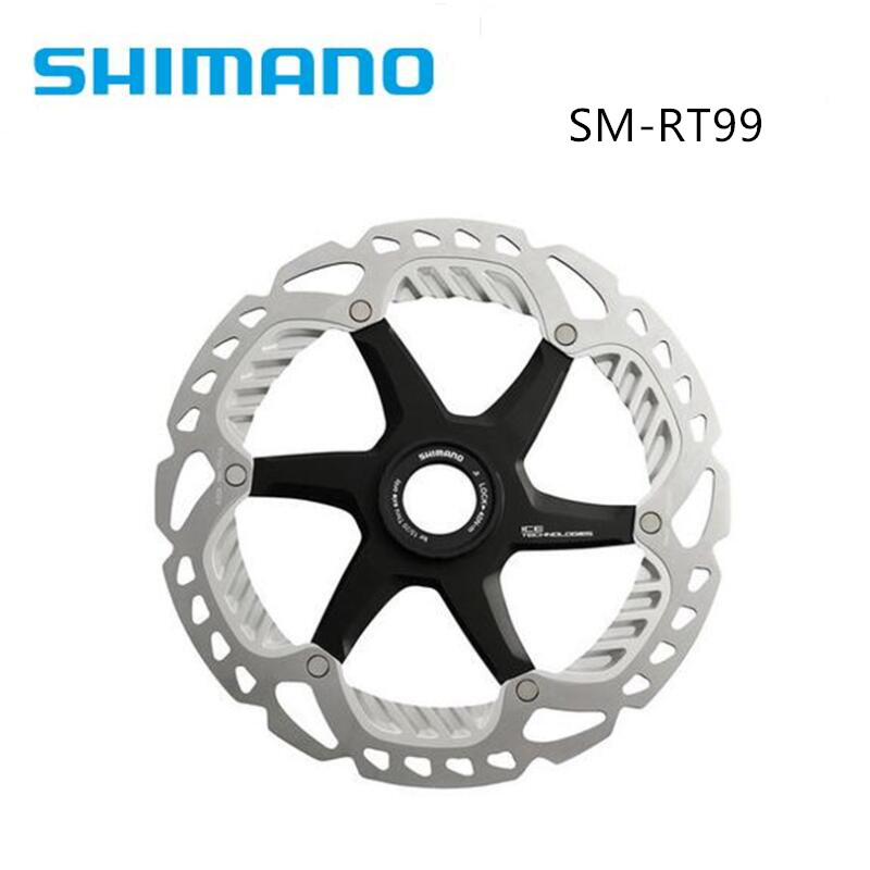Shimano SM-RT99 Fahrrad-Bremsscheibe Ice-Tech Freeza XTR//Saint 140//160//180//203mm