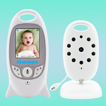 Wireless Video Color Baby Monitor Night Vision Baby Security Camera V601 Temperature Baby Eletronica(China)
