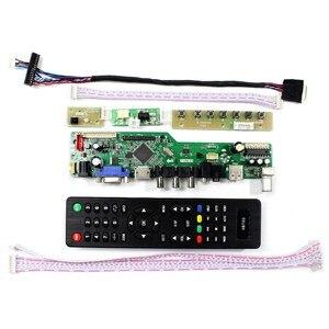 Image 2 - LTN097XL01 A02 HDMI VGA AV USB RF وحدة تحكم بشاشة إل سي دي مجلس LP097X02 SLNV 1024x768 قرار LP097X02 SLA8 ل 9.7 بوصة شاشة Lcd
