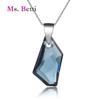 2017 New Wedding Jewelry Pendant Necklace For Women With 100 Genuine Crystal From Swarovski Good For