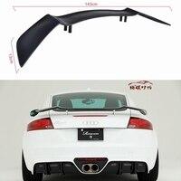 Углеродного волокна заднего крыла спойлер багажника для Audi TT TTS TTRS Роуэн Стиль 2008 2009 2010 2011 2012 2013 2014 2015 2016 2017