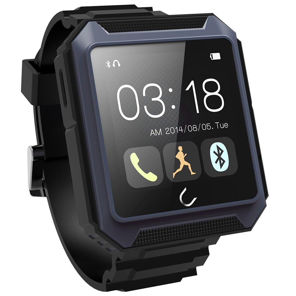 Original UT U IP68 Waterproof Smart Watch MTK2501 Bluetooth Outdoor Sport Smartwatch with Compass for Android iOS PK DZ09 GT08 2016 bluetooth smart watch gt08 for