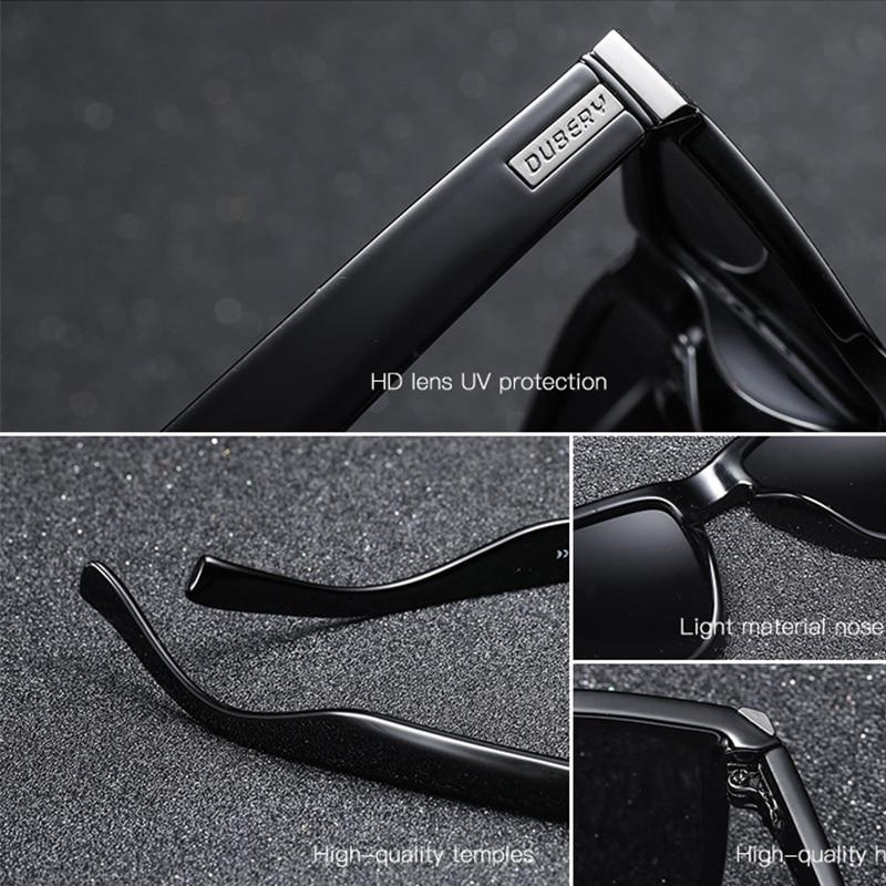 ef5d5d1dd4 DUBERY Sunglasses Men Polarized Sunglasses Outdoor Driving Shades Sun  Glasses For Men Summer Square Mirror Eyewear Oculos UV400-in Sunglasses  from Apparel ...