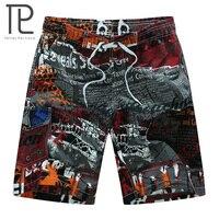 2016 Summer Hot Men Beach Shorts Quick Dry Printing Running Shorts Men