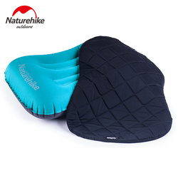 Naturehike Inflatable Outdoor Camping Pillow Ultralight Travel Pillows With Pocket Portable Inflation Cushion