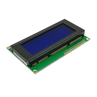 Blue  / Green Screen IIC 2004 +IIC I2C X 4 Character HD44780 Blue Screen Backlight Controller for SPI Serial Interface Adapter