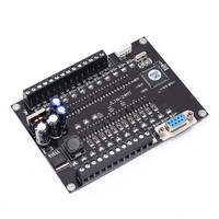 FX1N 24MT 32Bit PLC Control Board 12 Points In 12 Points Out Directly Driving Magnetic Valves