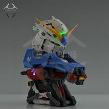 نادي كوميك في المخزون الجمعية Gundam نموذج 1:35 RX 93 مرحبا الخامس Gundam رئيس تمثال نصفي هدية البرتقال الخارجي درع لعبة هدية عمل الشكل