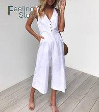 d73f8c019f27 black white jumpsuit elegant for women 2019 deep V-neck strapless Vest  Conjoined Famale Trousers Elegance formal jumpsuits