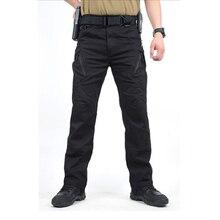 Los Hombres de bajo Precio IX9 Militar Pantalones Cargo Pantalones Tácticos de Combate Del Ejército Militar Pantalones Pantalón de Algodón s