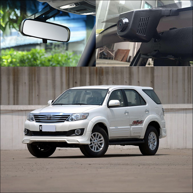 Bigbigroad For Toyota Fortuner Driving Video Recorder Wide Angle