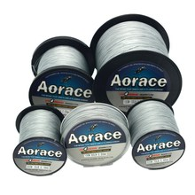 Grey Color PE Braid Fishing Line for Bigger Fishes 4Strands Fishing Lines 100Lb Super Strong Braid Line PE Line Spool 100M-1000M(China)