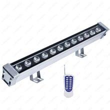 цены 9W/12W/18W/24W/36W/48W Outdoor LED RGB Wall Wash Light Flood Washer Lamp Remote Control DMX512 Stainless Steel Bridge Garden