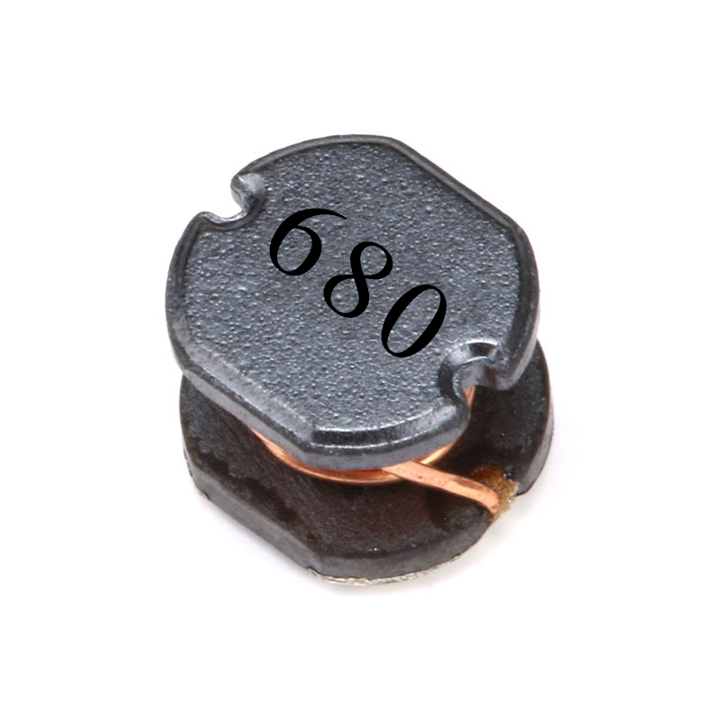 10pcs/lot CD54 68UH SMD Power Inductor 680 0.8A Chip Inductor