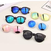 YUMOMO New Kids Sunglasses Boys Lovely Baby Children Glasses Mirror Sun For Girls Gafas De Sol UV400
