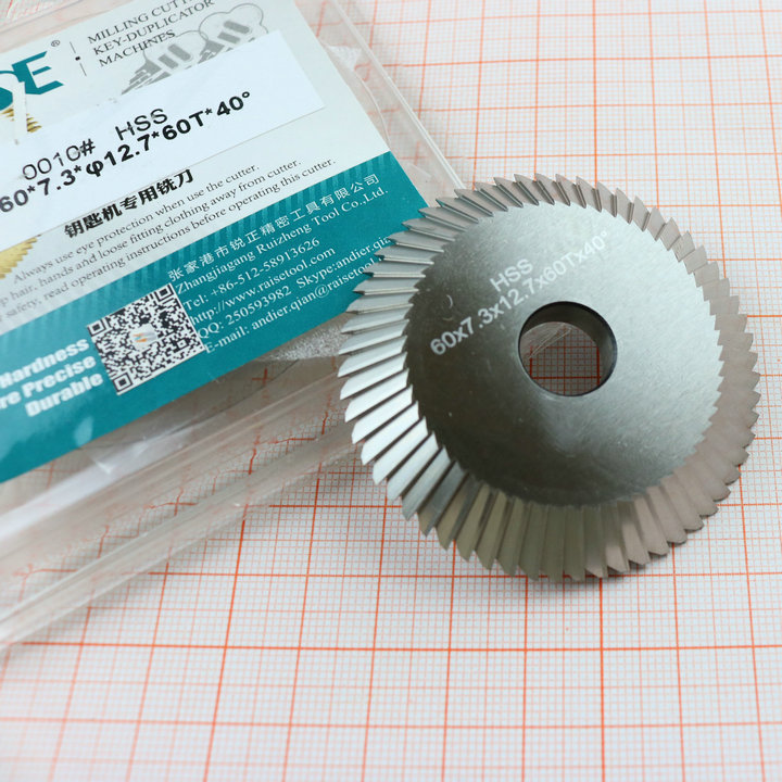 Milling  60X7 0010  Wenxing  Key for Cutting 3X12 piece one 100A100A1100A2100A3 7 cutter Machine