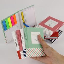 Korean creative tower hardcover combine memopad notepad stationery diary notebook office school supplies with pen 1pcs.jpg 250x250